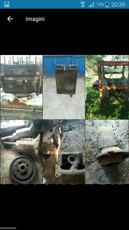 Servo,cabina,trompa,radiator,motor,tractor u650 și alte piese