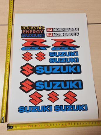 REDUCERE Stickere Suzuki A3 sticker moto honda ninja kawasaki