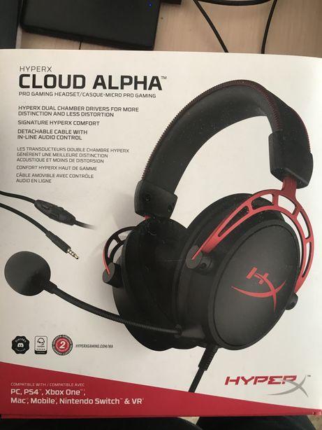 Casti / Headset HyperX Cloud Alpha