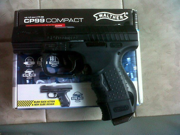 Pistol Mic Si PUTERNIC!! Forta Uriasa (Cu Aer Comprimat Airsoft)Co2gaz
