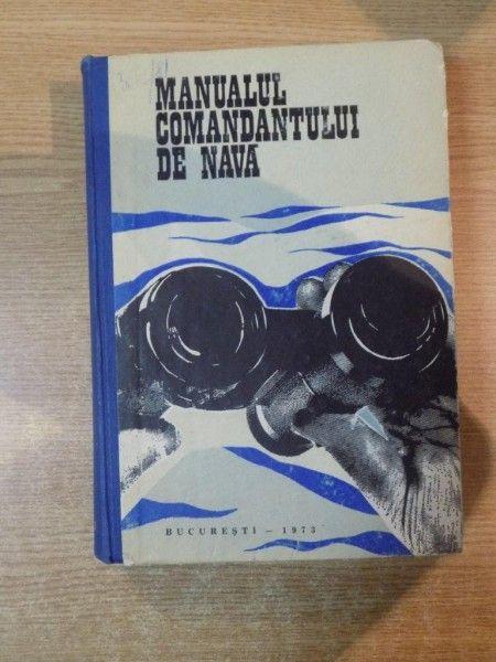 Manualul Comandantului de nava