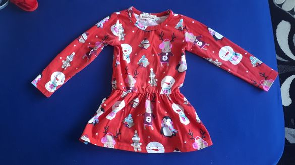 Коледна рокля - 90см