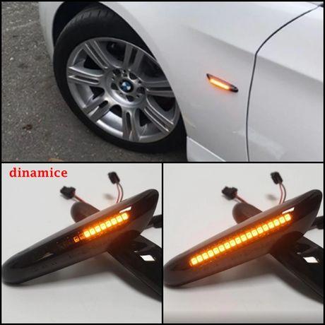 Set 2 bucati semnalizari dinamice LED BMW E46 E90 91 E60 61 E81 E87 X1