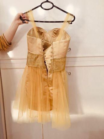 Дамска-къса рокля С/М размер