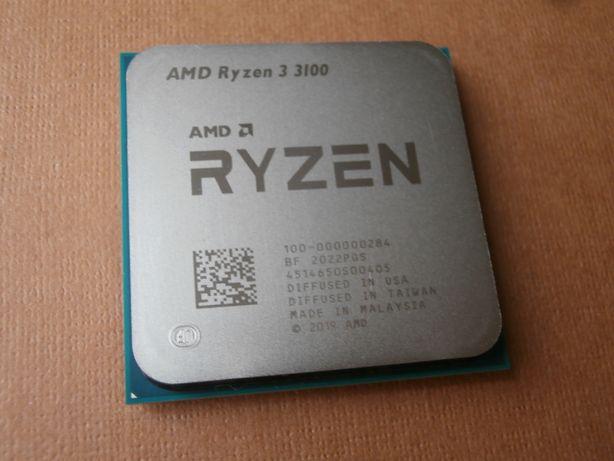 Процессор Ryzen 3 3100 и кулер AMD Wraith Stealth
