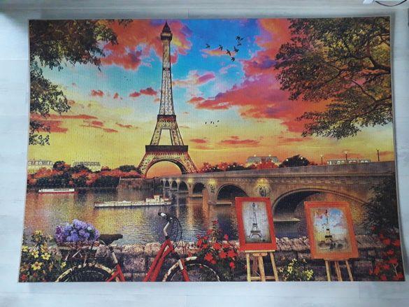 Картина пъзел с Айфеловата кула