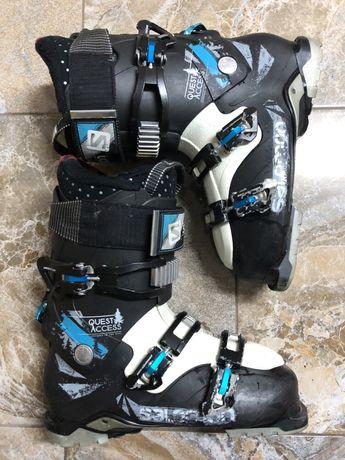 Salomon quest access cruise clapari ski boots 44