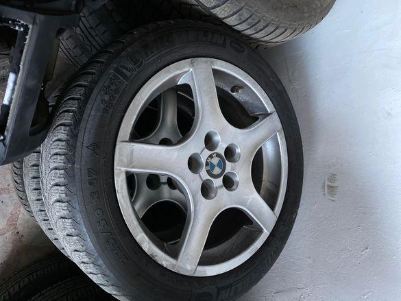"Bmw e60xd данти с гуми 17"""