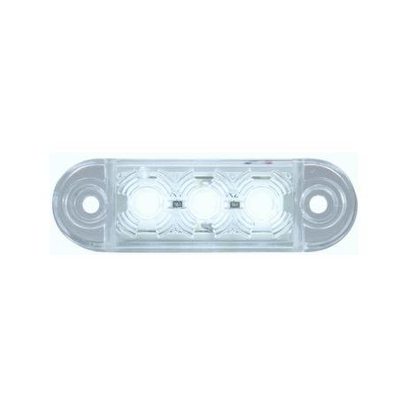 Габарит LED / 12-24V / с 3 диода / бяло, червено , жълто