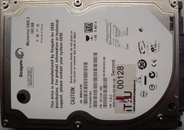 "Hard Disk-HDD Sata 2,5"" HDD-160 Gb Seagate ST160821AS Refurbished"