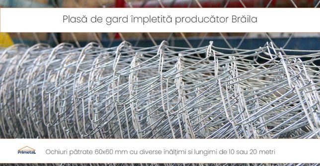 Plasa de gard împletită producător Brăila