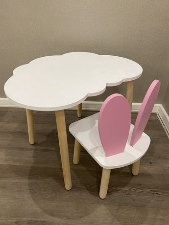 Детские стол и стуля