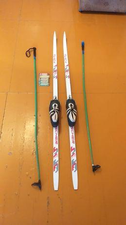 Продам лыжи