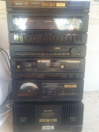 Sistem sharp 7700, combina muzicala