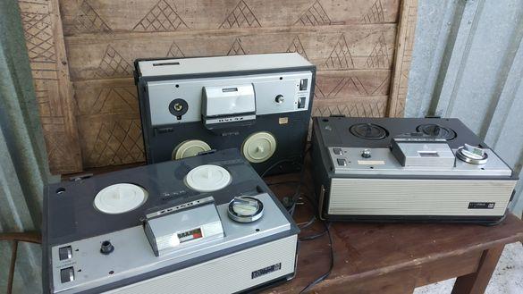 Ретро ролкови магнетофони Unitra лиценз на Grundig. За части