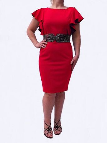 Женское Красное Платье от Кельвин Кляйн