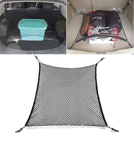 Мрежа за багажник , органайзер 70 х 70 см . еластична мрежа
