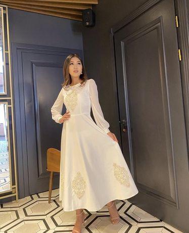 Новое платье, размер 44, на кудалык, сырга салу самое то