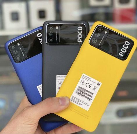 Xiaomi Poco M3 4/128 ГБ черный new