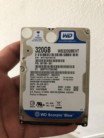 Hard disk 320 gb Laptop