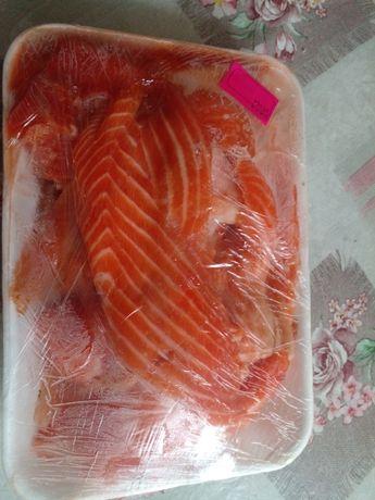 Рыбные продуты семга форель