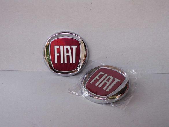 75-120мм Емблема за FIAT ФИАТ 500 Браво Пунто Панда Албеа Дукато Добло