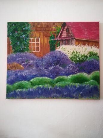 "Tablou-pictura ""Lavande"""