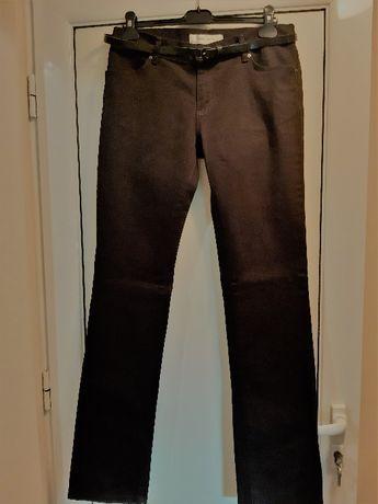 Панталони НОВИ 2бр -марка Зара Испания тип дънки; елегантен каре 9/10