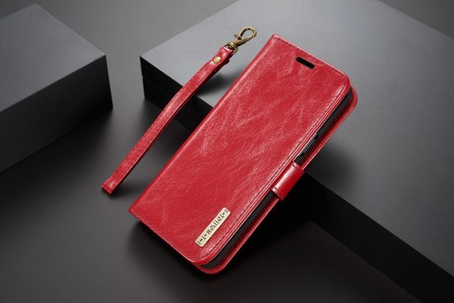 Husa piele Samsung S9, 2in1 curelusa mana, magnetica, CaseMe