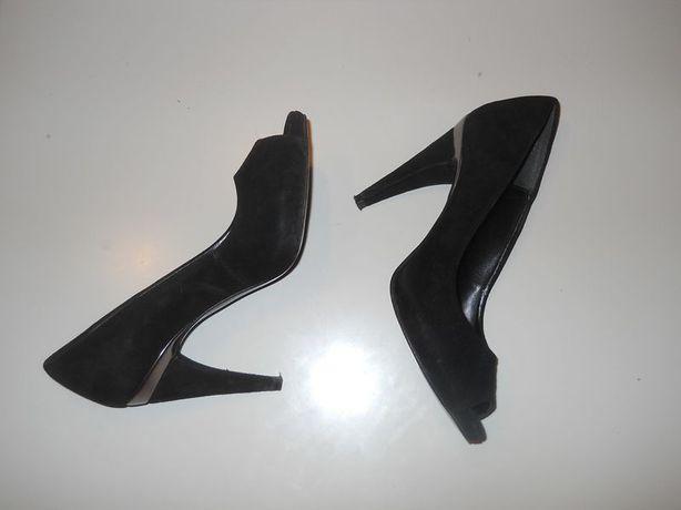 Pantofi ZARA piele intoarsa 100%