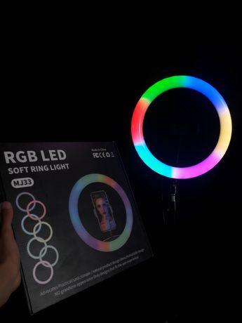 Цветная лампа / КОЛЬЦЕВАЯ лампа / RGB лампа