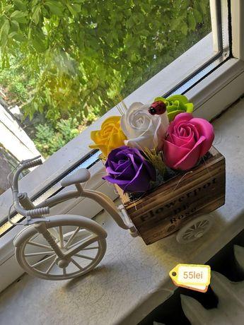 Ornamente trandafiri săpun