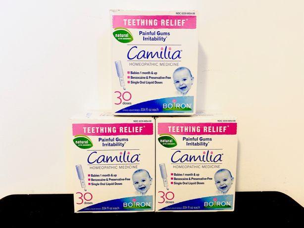 Camilia Boiron- Calmare dureri eruptii dentare bebelusi -30 fiole SUA