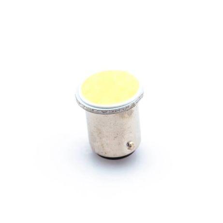 COB LED Автокрушка 1157 / BAY15D / P21 бяла светлина
