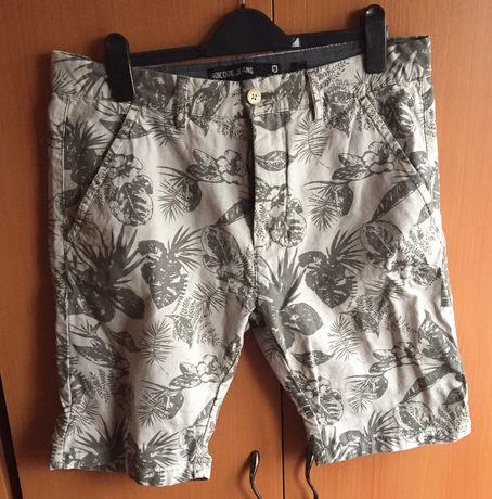 Bermude Indicode jeans ,tricouri Zara si Jack&Jones marimea L,noi