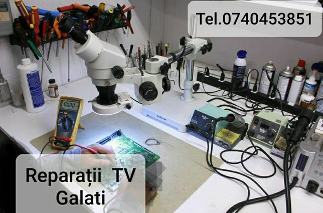 Reparatii Televizoare Tv Lcd Led si tub in Galati