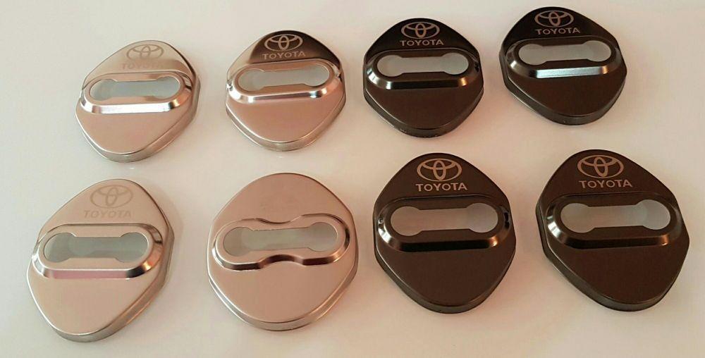 Capace protectie incuietoare usi cu logo Toyota