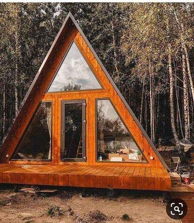 Faccase din lemn,case pe structură din lemn, case și cabane din lemn