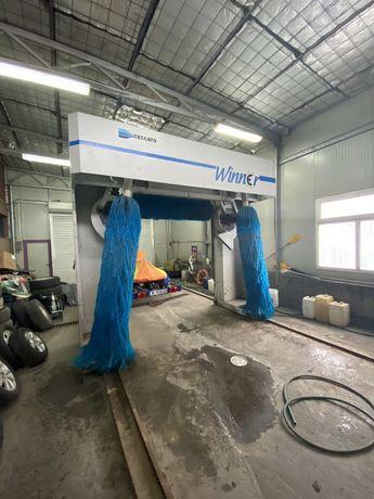 Четкова автомивка мивка работеща комплект гюдериени четки Winner Уинер