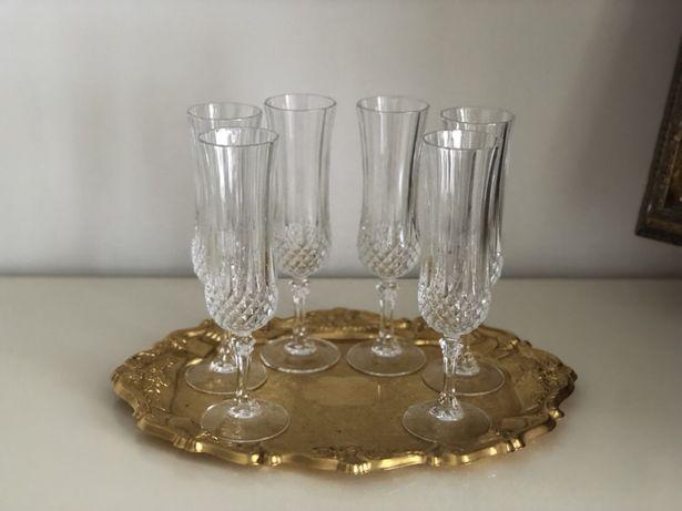 Set 6 buc pahare cristal pt sampanie Crystal d'Arques