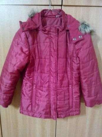 Geaca de iarna pentru fete,7-8-9 ani,firmă Pepperts