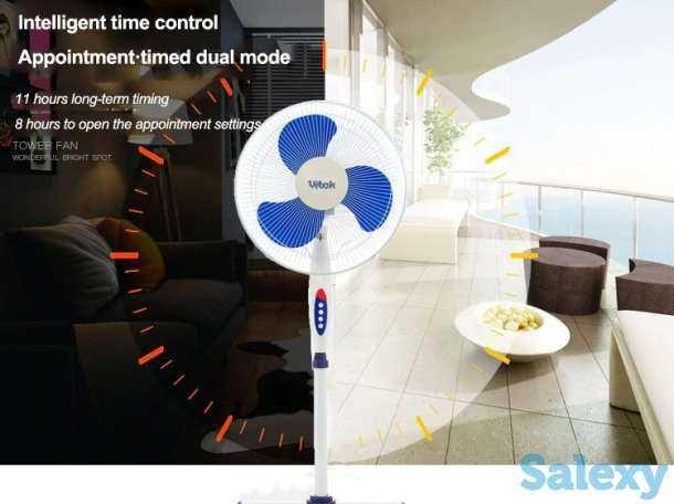 Новый напольный вентилятор Vitek для дома/офиса ( доставка )