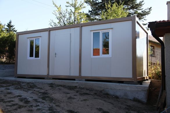 Жилищен контейнер, две стаи+баня+тоалетна!Безплатна доставка!