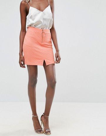 ASOS Textured Mini Skirt -НОВА Дамска пола