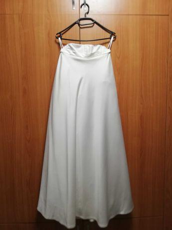 Булчинска рокля, цвят шампанско