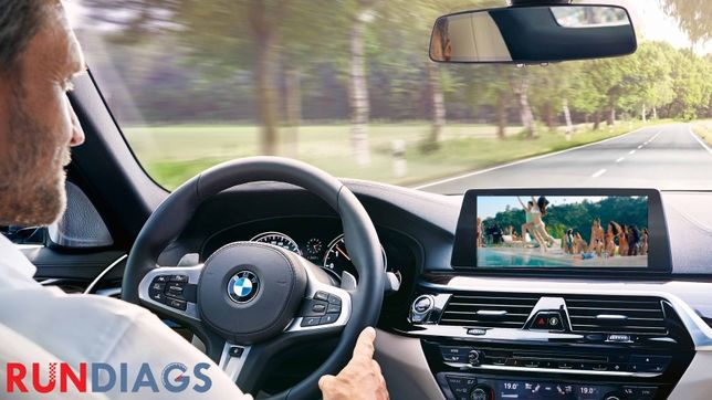 Activare Video In Motion BMW F&G Series (F10/F30/F01/G30/G11)