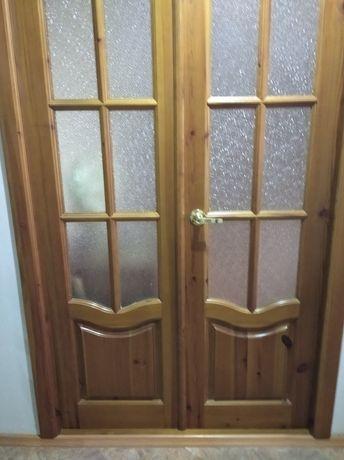 Двери межкомнатные декор деревянный