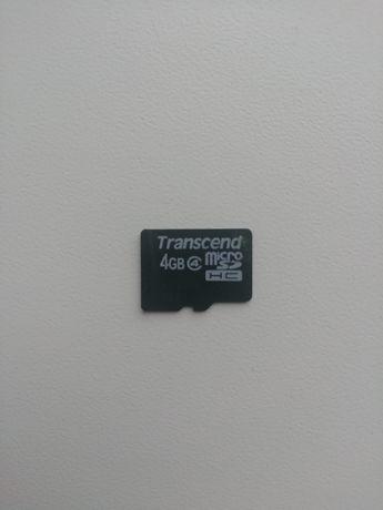 Продам микро флешкарту на 4 гигабайтов или ОБМЕН на флешу на компьютер