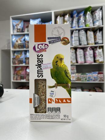 Lolo pets лакомстао для волнистого попугая