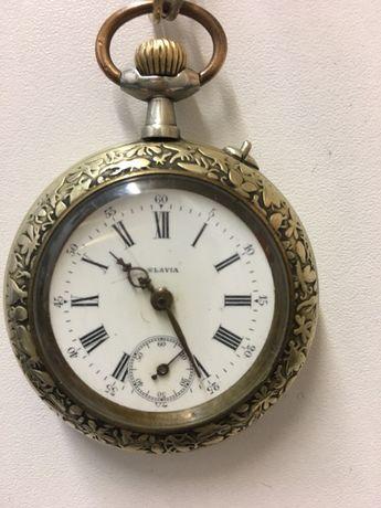 Ceas de argint SLAVIA